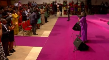 Dr. Patricia Bailey Ministering in Nigeria