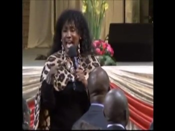 Dr. Patricia Bailey w/ Dr. Bill Winston In South Africa
