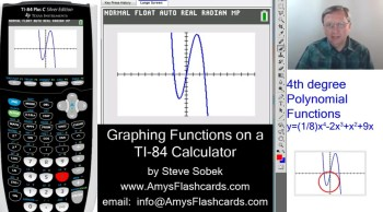 Graphing Functions on a TI-84 Calculator