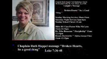 Chaplain Ruth Happel