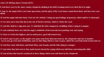 Shepherds Bearing Gifts