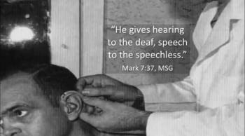 Hearing God through an Audiologist
