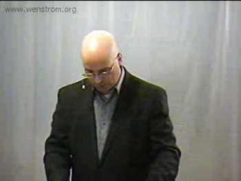 Wenstrom Bible Ministries-Colossians Series-Pastor Bill Wenstrom