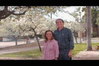 Paul e Miriam. Balboa Park