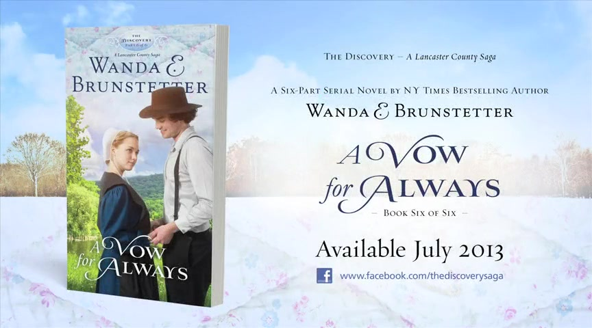 A Vow for Always - The Discovery-A Lancaster County Saga #6