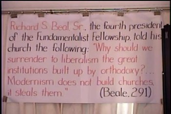 Part 1 --  The Fundamental Baptist Fellowship & Background of Methodism    – History of Fundamentalism Class #22 – BFTBC