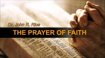 The Prayer of Faith, Part 4 (The Prayer Motivator Devotional #168)
