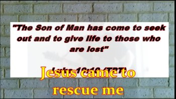 Jesus Came To Rescue Me (Echo Praise)
