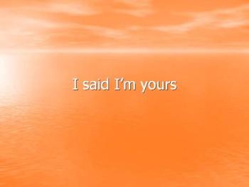 I Said - Ana Rochford