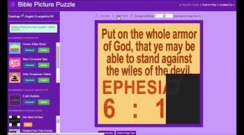 Bible Picture Puzzle