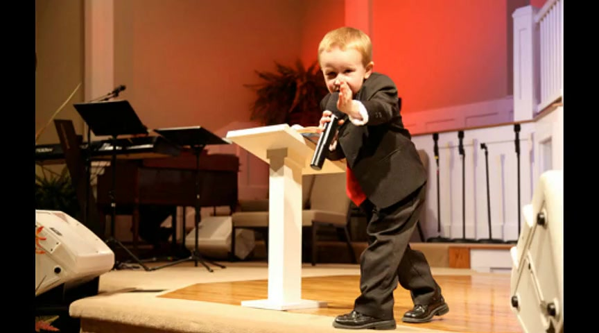 Kid Preacher Kanon Tipton