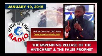 Imminent Rapture, Impending Release of the Antichrist and the False Prophet - Dr David Owuor