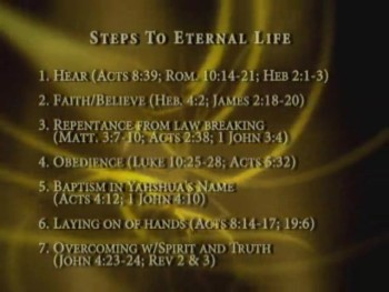Steps to Eternal Life