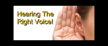 Hearing the Right Voice! - Randy Winemiller