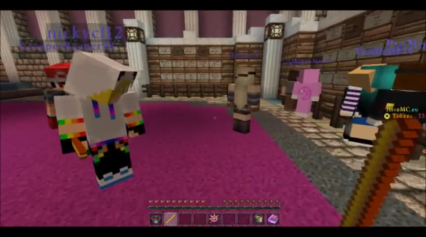 MInecraft minigames with nick
