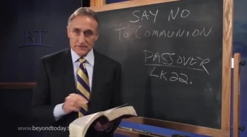"BT Daily -- Say ""No"" to Communion"