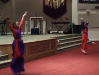 libertyandglory dancing to Jesus culture