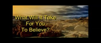What Will It Take For You To Believe? - Randy Winemiller