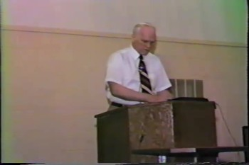"""Part 2 -- """"The Lordship of the Lord Jesus Christ""""   – Pastor D. A. Waite  – BFT1523"""