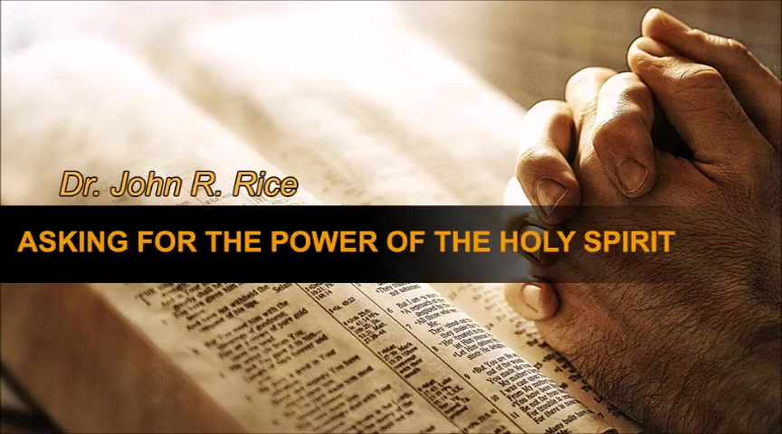 Asking for the Power of the Holy Spirit, Part 2 (The Prayer Motivator Devotional #157)