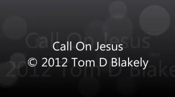 Call On Jesus