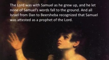 Samuel: Prophet, Judge and Seer