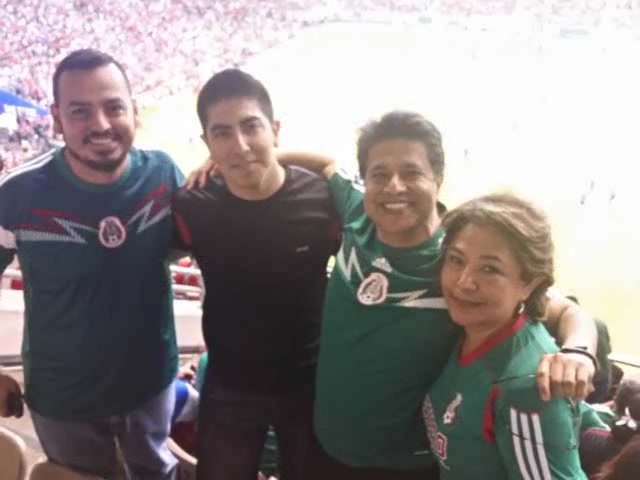 Visit to San Antonio to watch soccer game US vs Mexico.