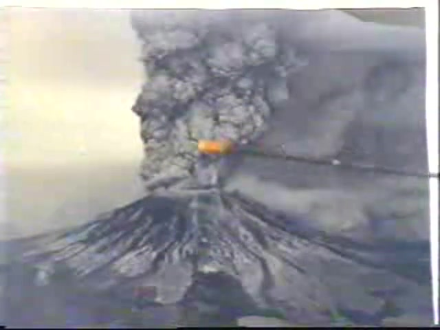 Dr Arnold Murray Mount St.Helens The Face of 1980