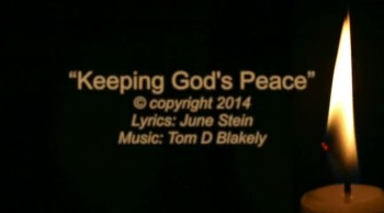 Keeping God's Peace