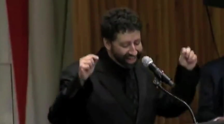 THE CHRISTIAN HOLOCAUST JONATHAN CAHN'S SPEECH TO THE U.N.-FULL VERSION