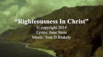 Righteousness In Christ
