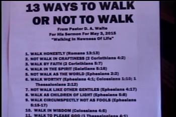 Walking In The New Life – Pastor D. A. Waite – Romans 6:1-11 – BFTBC