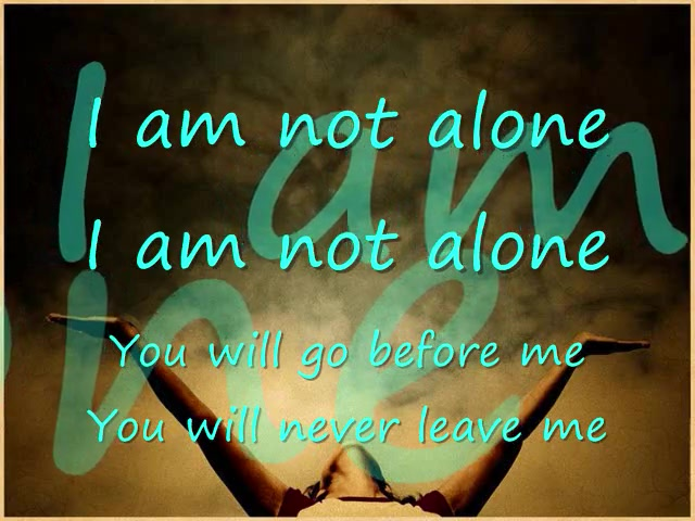 I Am Not Alone by Kari Jobe (Cover)
