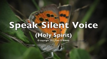 Speak Silent Voice (Holy Spirit)
