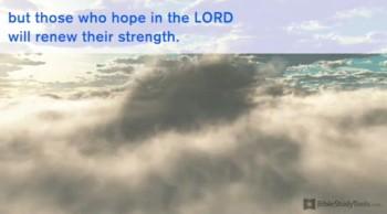 BibleStudyTools.com: Chill-Inducing Version of Isaiah 40 Has Me Soaring