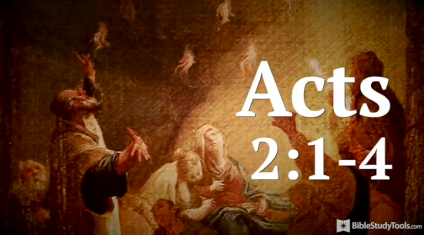 BibleStudyTools.com: You've Got to See the Pentecost Power in This Amazing Version of Acts 2