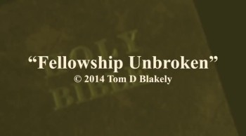 Fellowship Unbroken