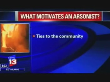 Who Commits Arson?