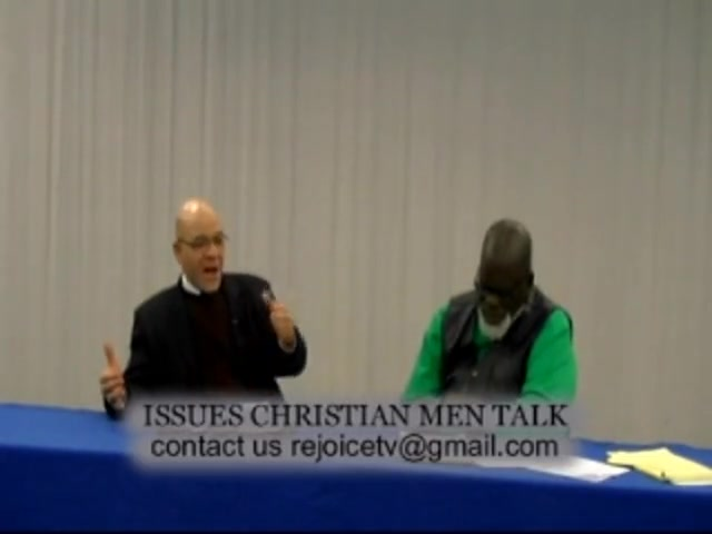 ISSUES CHRISTIAN MEN TALK