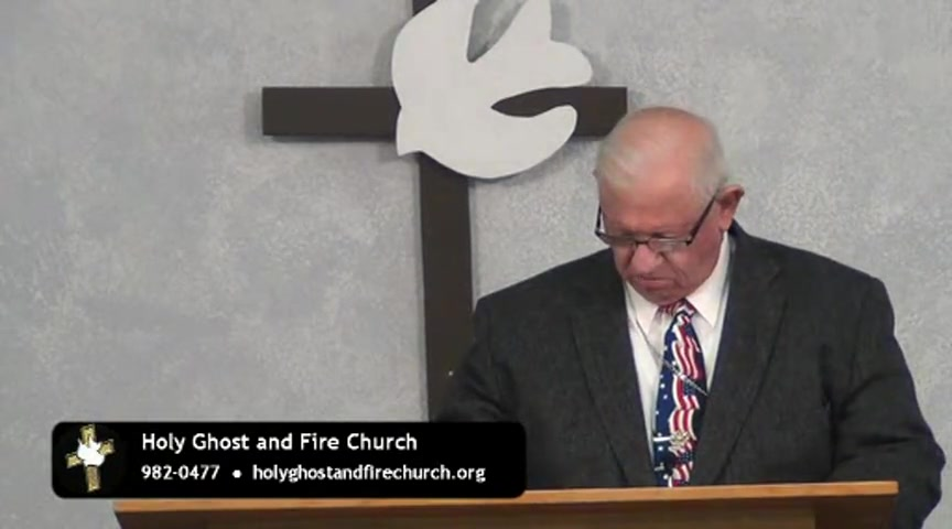 Holy Ghost Fire Church Broadcast 05-22