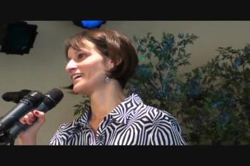 Kent Viana's memorial service.Carol Viana
