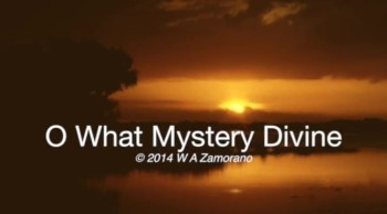O What Mystery Divine