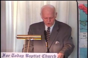 """Part 2 -- """"The Christian's Two Natures"""" – Pastor D. A. Waite – Romans 7:1-13-25 –  BFTBC"""