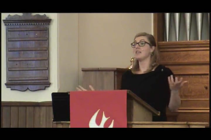 Our Advocate, by Rev. Thyra VanKeeken