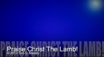 Praise Christ The Lamb!