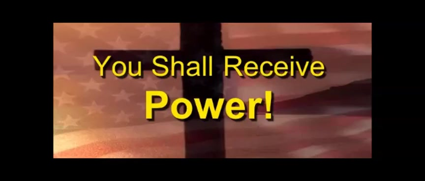 You Shall Receive Power - Randy Winemiller