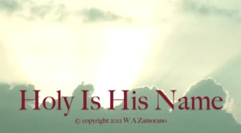 Holy Is His Name