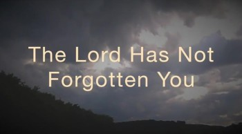 The Lord Has Not Forgotten You