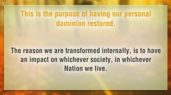 What isthe Kingdom of God?