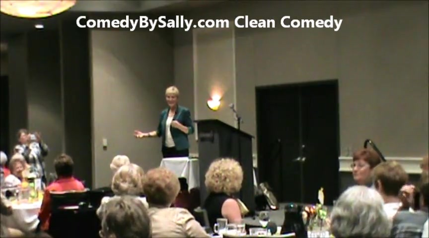 Christian Comedian Sally Edwards